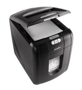 GBC Swingline Stack-and-Shred 100X Hands Free Shredder,100 Sheets (1757571)