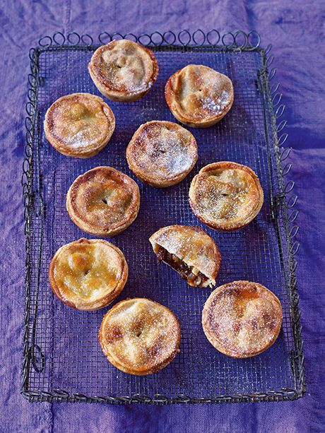 Mince pies:  You just can't beat a classic mince pie, still warm from the oven.