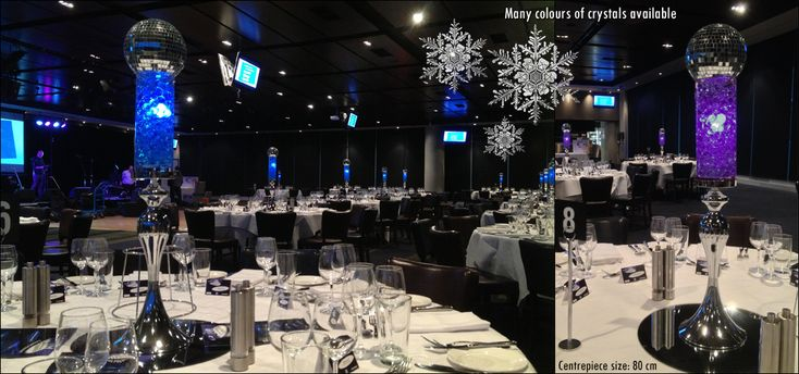 Corporate Event Theming, Christmas Decor and Theming, Christmas Centrepieces Melbourne