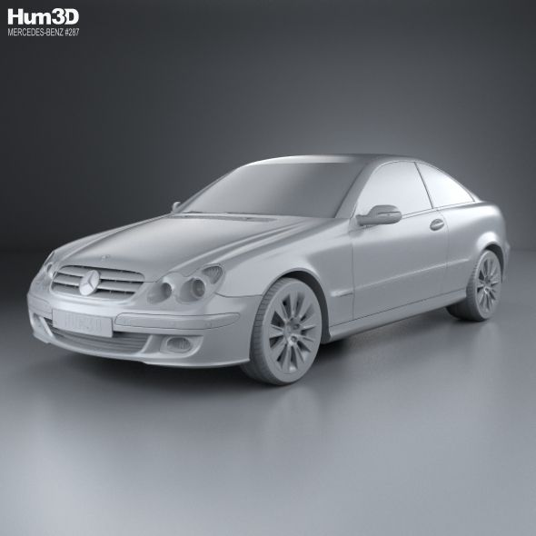Mercedes Benz Clk Class C209 Coupe 2005 With Images Mercedes