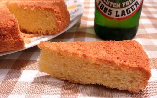 #GlutenFree beer cake. Dairy free, wheat free, yeast free. Torta alla birra senza glutine latte e lievito.