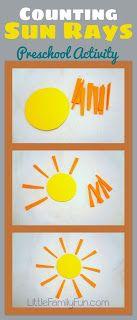 Little Family Fun: Space Theme Preschool Activities