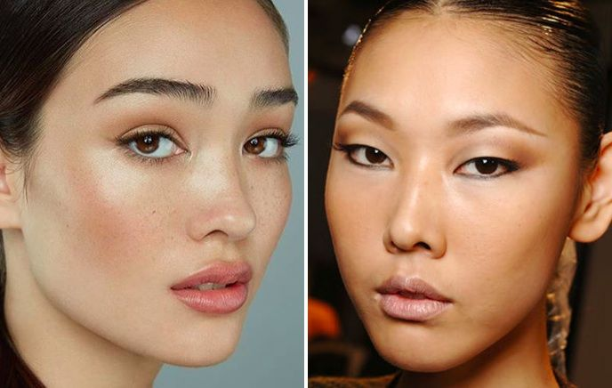 Korean Makeup Trends 2018 Face Brows Eyes And Lips Makeup That