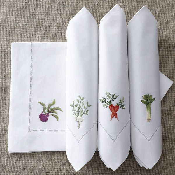 From the Garden Napkins – Veggies