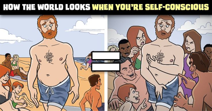 How the World Looks When You're Self-Conscious