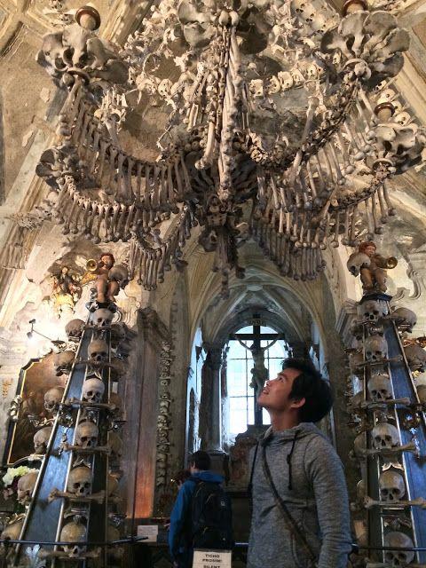 Gereja Penuh Tengkorak Di Kutna Hora #Prague #KutnaHora #CzechRep #Travel #Travelling #Treaveller #Perjalanan
