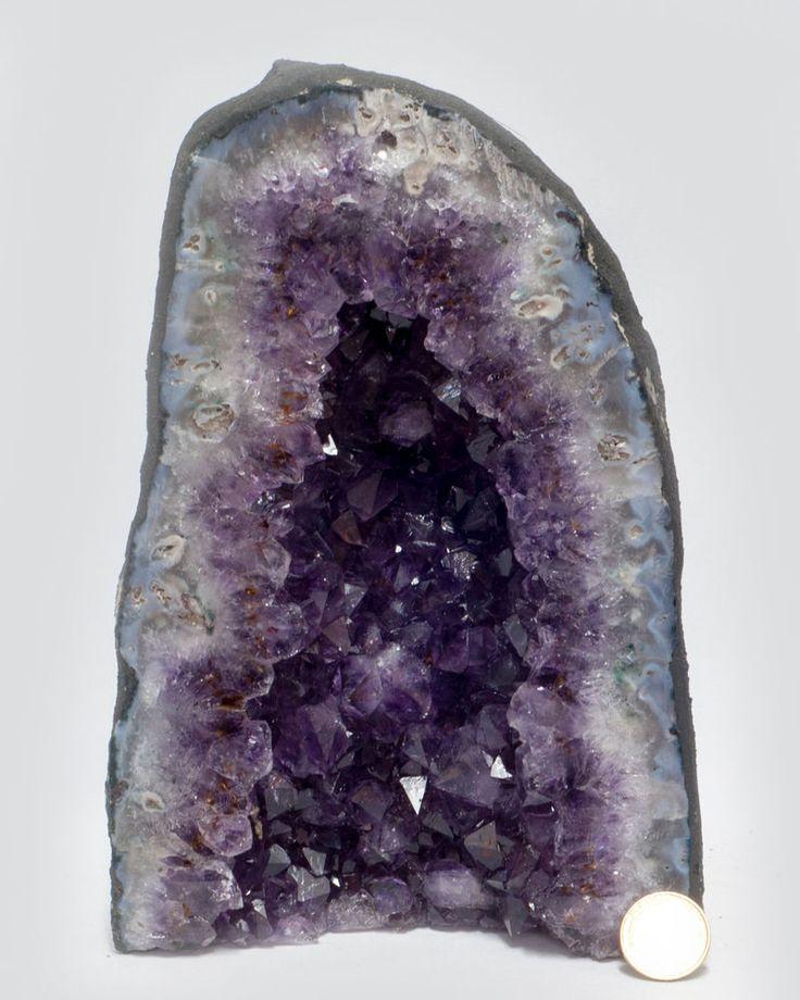 Amethystdruse 235,  Amethyst, Quarz Druse,Achat, Geode, Edelstein, Heilstein | eBay