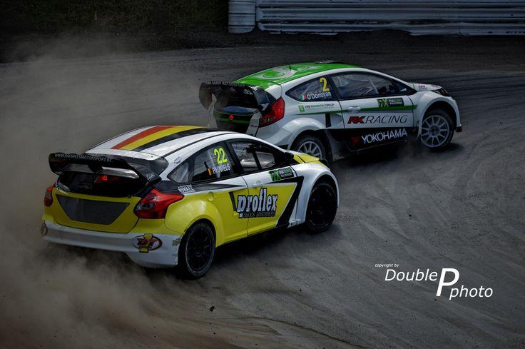 https://flic.kr/p/FikKkD | Ford Hoonigan | K. Pauwels/ O. O'Donovan Ford Focus Mk 3/ Ford Fiesta Mk 7 World Rallycross Germany 2015