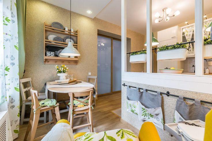 Konyhafelújítás lakótelepi lakásban - 14m2-es helyiségből hangulatos konyha étkezővel, olvasósarokkal, kis retro hangulattal