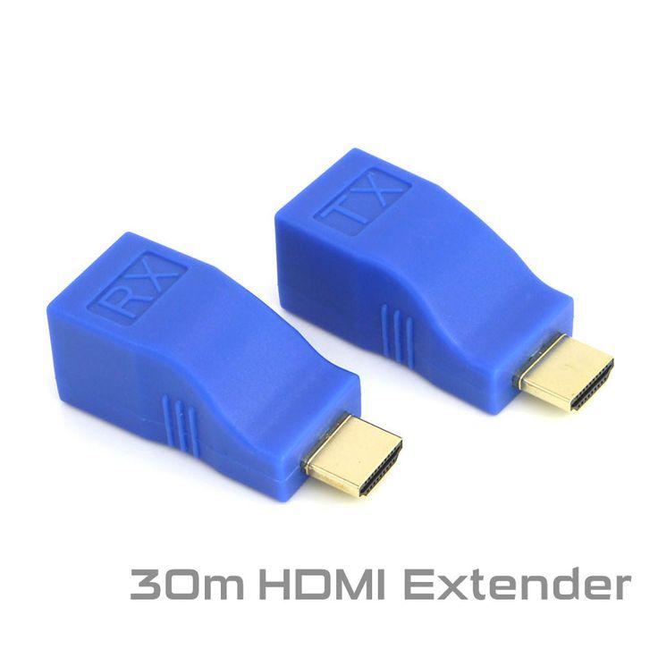 17 best ideas about cat6 kabel ladekabel büro hdmi extender transmitter tx rx hdmi v1 4 hd 1080p to 30m over cat6