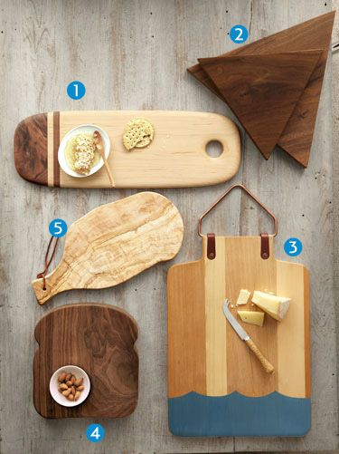5 Functional and Stylish Wooden Cutting Boards