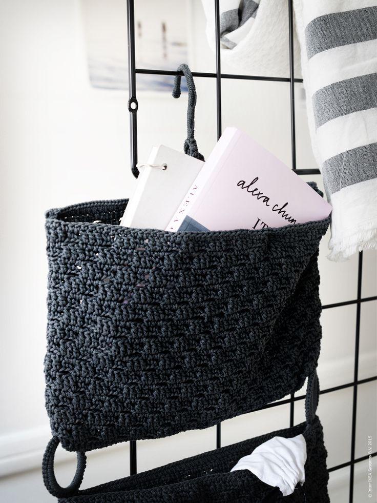 NORDRANA hängande förvaring är perfekt för små accessoarer och annat.