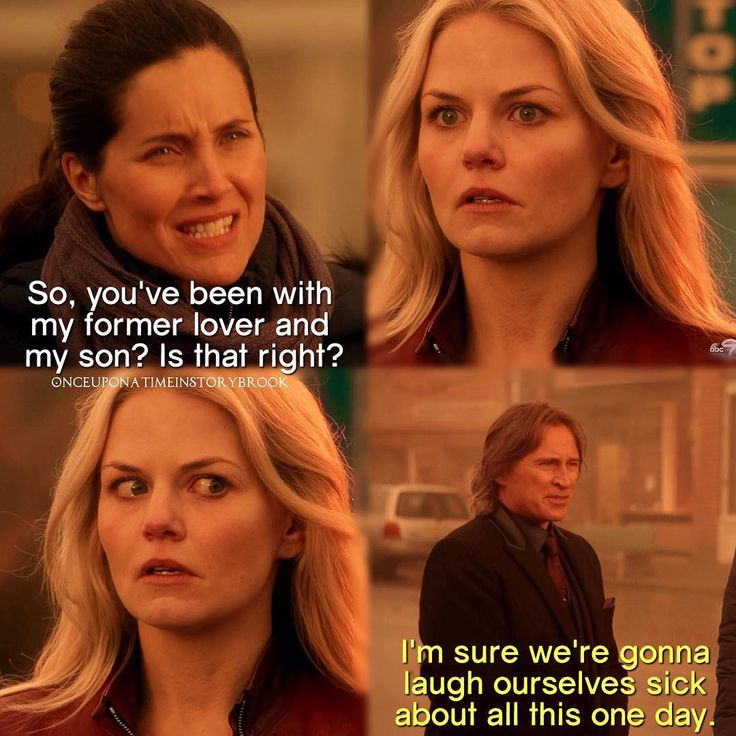 "Emma Swan, Rumple and Milah - 5 * 14 ""Devil's Due"" 《 This family tree makes my head hurt."