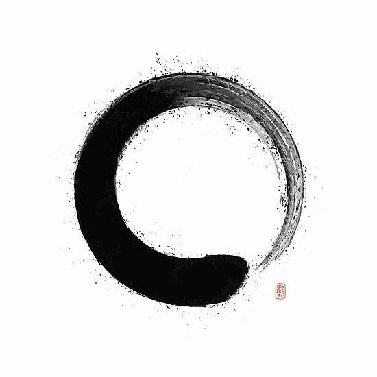 Ensō , tatouage...