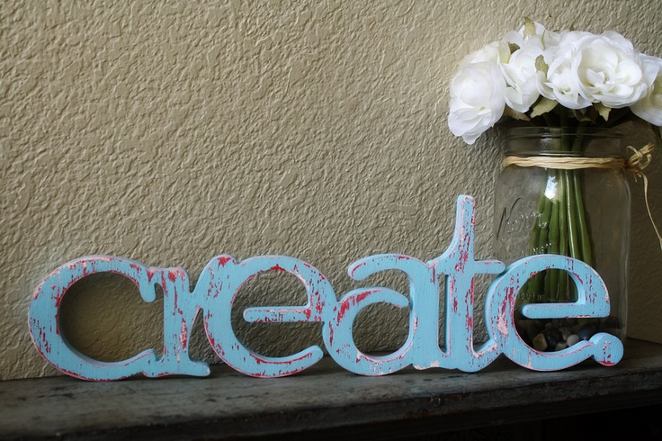 Create wood sign- custom cut wooden words painted to match any decor. $45.00, via Etsy.Decor, Wooden Words, Create Wood Signs, Diy Signage, Bonus Room, Painting, Custom Cut, Cut Wooden, Wooden Crafts