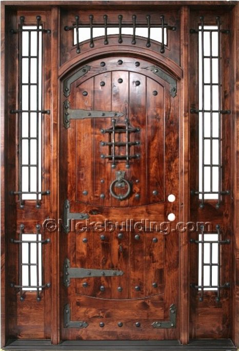 Wood N Metal Door