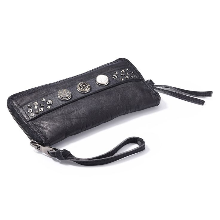 Noosa Amsterdam Classic Wallet - Antique Black - YouAllover