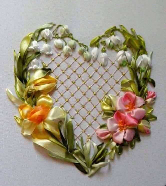 Images about broderie on pinterest basket of