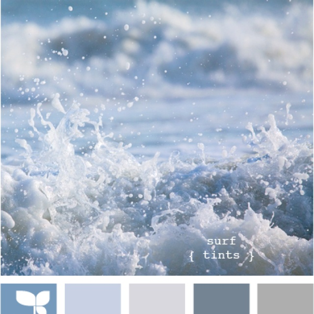 great colors - blues and grays