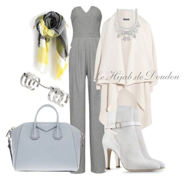 """""""Hijab Outfit"""" by le-hijab-de-doudou ❤ liked on Polyvore featuring Marissa Webb, Alexander McQueen, Givenchy, Alberta Ferretti and Edge of Ember"""