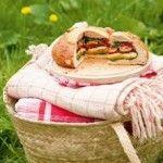 Layered Picnic Cob Loaf