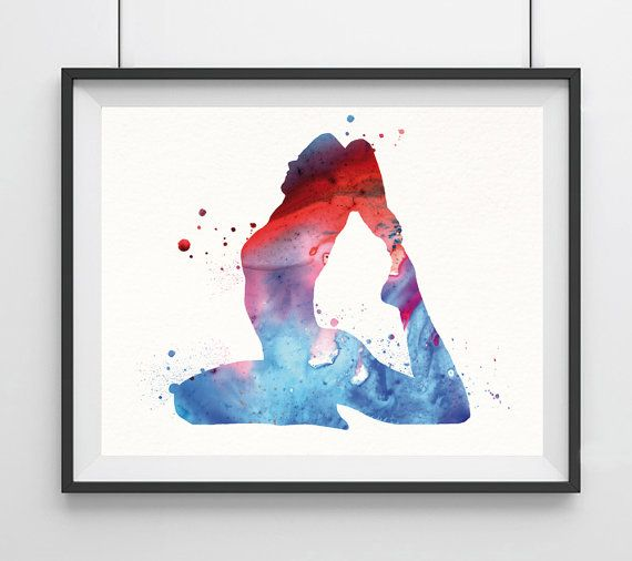 Hey, I found this really awesome Etsy listing at https://www.etsy.com/listing/239483673/yoga-watercolor-print-yoga-pose-painting