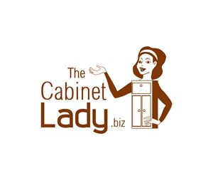 The Cabinet Lady kitchen cabinet company needs ... Playful, Personable Logo Design by briliana