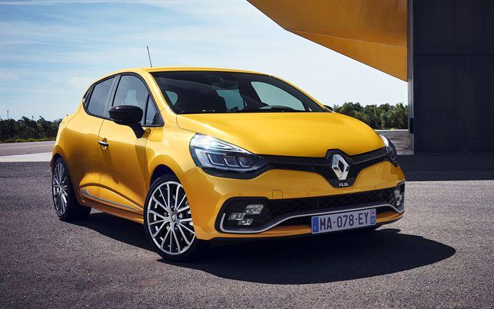Télécharger fonds d'écran Renault Clio RS 283, en 2017, les voitures, les voitures compactes, la nouvelle Clio, Renault