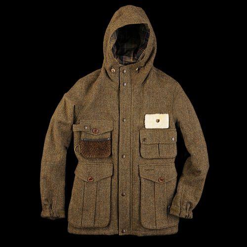 Barbour Wool Fishing Jacket. Seems a bit masculine but I'd make it work