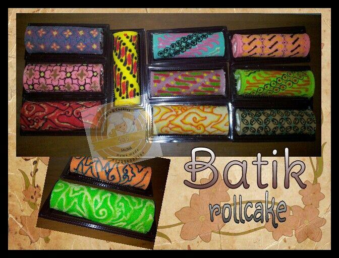 Indonesian BATIK ROLL CAKE. Homemade by Sa5 Cakes & Cookies.