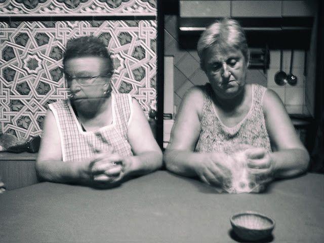 Eric Lavergne Images: Partida de cartas / Partie de cartes.  3.118 bn Vintage.