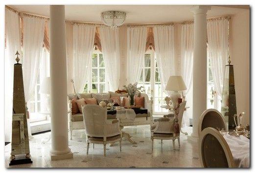 шторы в гостиную эркер
