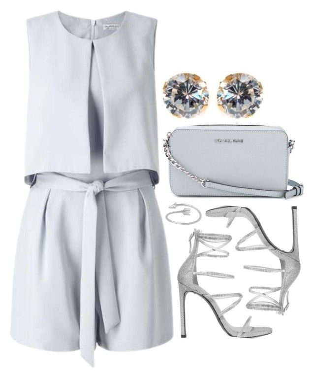 """""""Preadored 2.8"""" by emilypondng ❤ liked on Polyvore featuring MICHAEL Michael Kors, Miss Selfridge, Stuart Weitzman, Midsummer Star and PreAdored"""