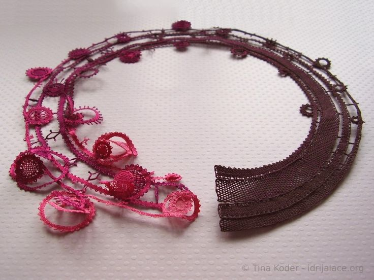 Designer handmade Idrija lace products by Tina Koder