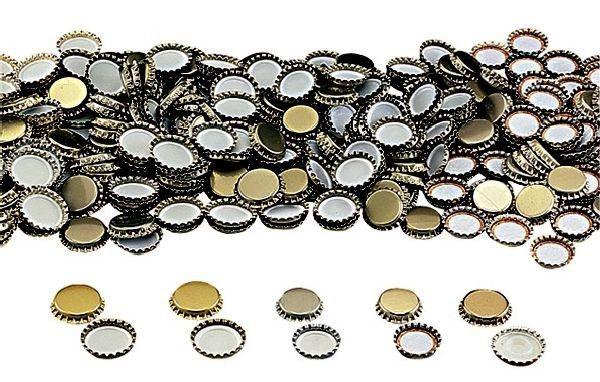 TAPPI A CORONA PER BOTTIGLIE PZ. 100 http://www.decariashop.it/tappi-e-capsule/16170-tappi-a-corona-per-bottiglie-pz-100.html
