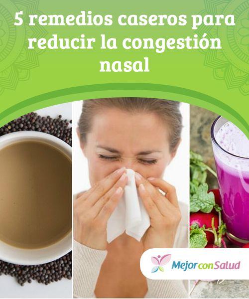 congestion nasal tratamiento natural