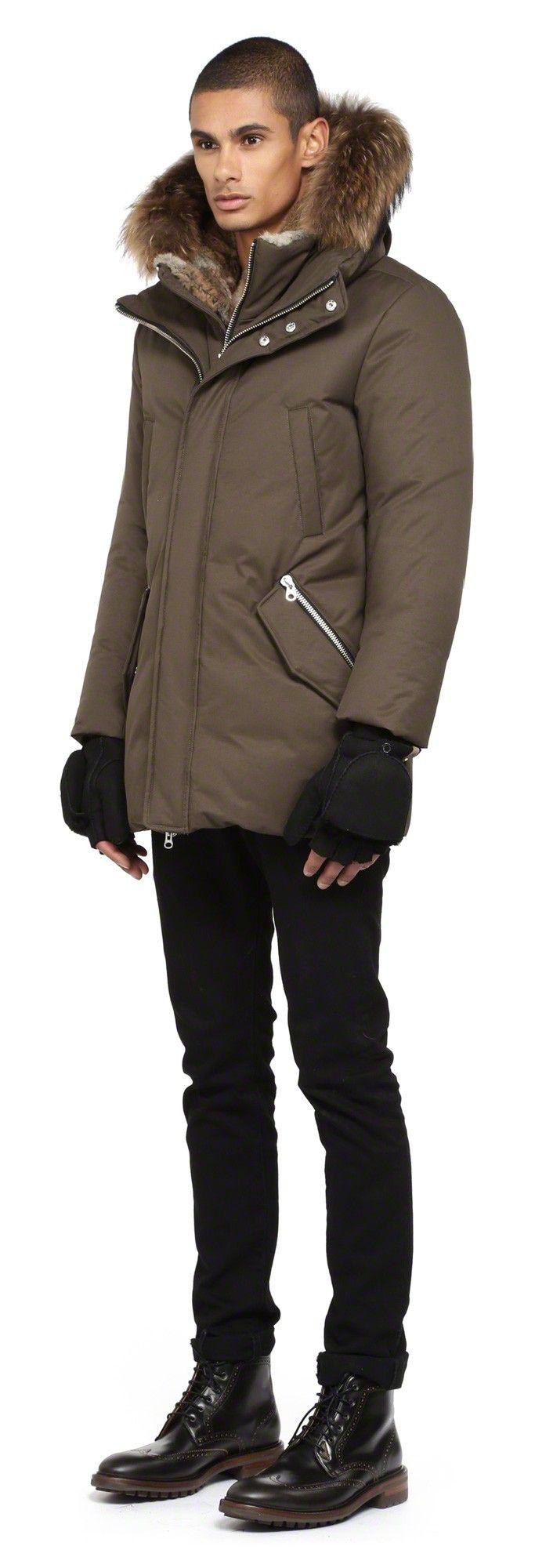 Mackage - LENNON-F4 BLACK SHEEPSKIN CUT-OUT FINGER GLOVES FOR MEN. www.mackage.com #luxuryaccessories #shearling #mitts #menswear #fw14 #leathergloves