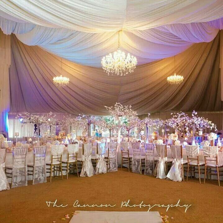 Nigerian wedding decor by Blue Velvet Marquee