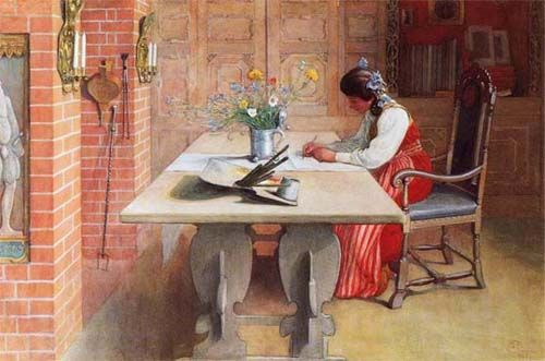 I give you: Carl Larsson - WetCanvas