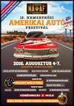 15 érv a 15. jubileumi Nemzetközi Amerikai Autó Fesztivál mellett - Komárom, Monostori erőd (2016.08.04-07.)