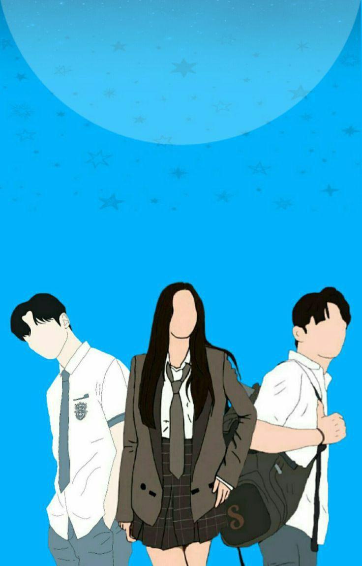 Wattpad Couple Animasi Art Ilustration Cover Wallpaper Kartun Hd Kartun Wallpaper Kartun