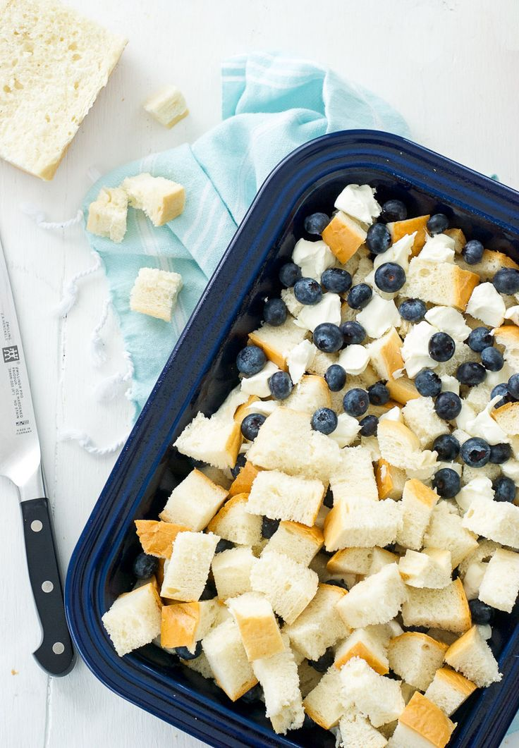 Baked Blueberry Maple French Toast
