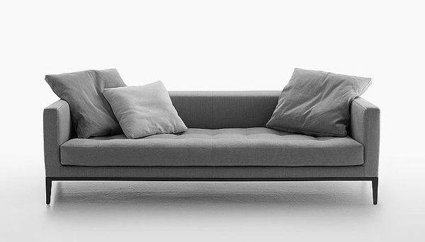 Grey friday-kakform.se: Simpliciter Sofa, Antonio Citterio, B&B Italia, Living Room, Furniture, Design, Sofas