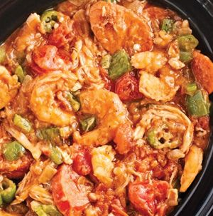 Your house is going to smell so good while Shrimp Gumbo does its thing in the slow cooker. Sprinkle in about 1/2 teaspoon of cayenne pepper for an extra kick.