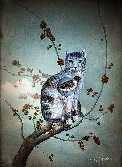 """Catrin Welz-Stein """"The Blue Cat"""""""