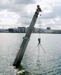 クレーン車が海に転落和歌山 操縦の男性無事 - 西日本新聞