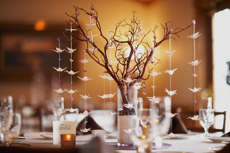 Centro de mesa inspirado en otoño