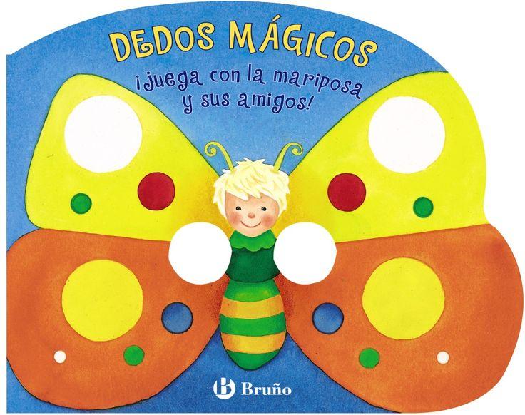 ¡juega con la mariposa y sus amigos! (dedos magicos)-9788421687147
