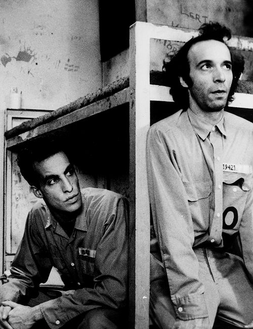 John Lurie and Roberto Benigni, in Jim Jarmusch's 'Down by Law' 1986.