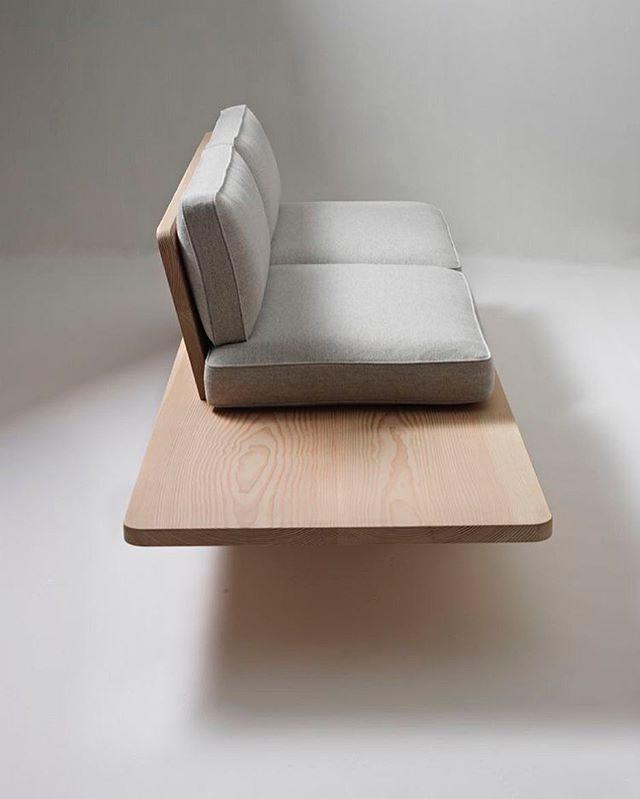Norwegian Design Group   Knudsen Berg Hindenes   Plank Sofa 2012 ➕  #nowyprodukt